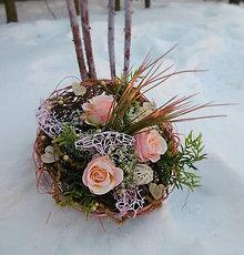 Dekorácie - Kytica... aj Valentínska - 7739058_