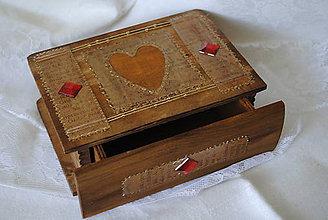 Krabičky - Šperkovnica... - 7736140_