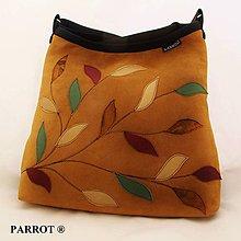 Kabelky - MAJESTIC BAG - pravá kůže- semiš * PARROT® - 7739992_