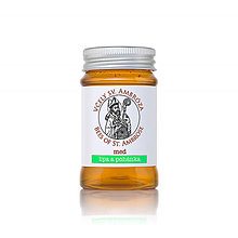Potraviny - lipa a pohánka - 100% včelí surový med 130g - 7739449_
