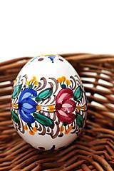 Dekorácie - Veľkonočné tradičné keramické vajíčko - 7735956_