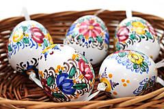 Dekorácie - Veľkonočné tradičné keramické vajíčko - 7735959_