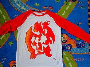 Detské oblečenie - maľované tričko - 7739186_