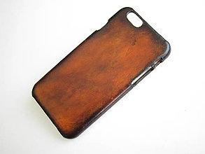 Na mobil - Kožené púzdro na mobil, iphone 6 kožené púzdro - 7738022_