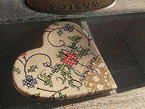 Darčeky pre svadobčanov - folklórne magnetky pre svadobčanov 2 - 7737988_