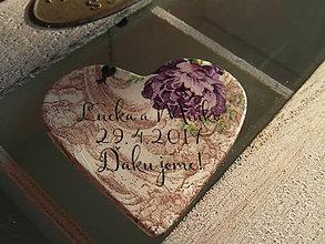 Darčeky pre svadobčanov - vintage magnetky pre hostí - 7738028_