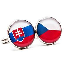 Šperky - Manžetky Česko-Slovenské - 7740085_