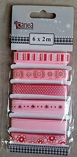 Galantéria - Stuhy (ružový balíček) - 7739236_