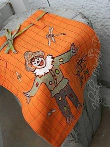 Detské tašky - vrecko strašiak do maku - 7737551_
