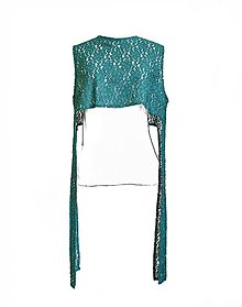 Iné oblečenie - Recyklovaný vintage top / vesta - 7736292_