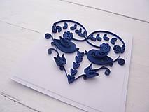 Papiernictvo - svadobná pohľadnica - 7740048_