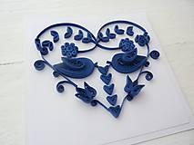 Papiernictvo - svadobná pohľadnica - 7740049_