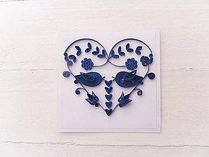 Papiernictvo - svadobná pohľadnica - 7740050_