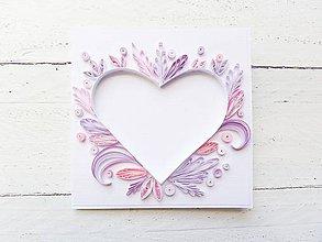 Papiernictvo - svadobná pohľadnica - 7740124_