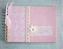 Papiernictvo - Ružová kniha hostí / album - 7741389_