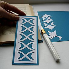 Papiernictvo - Modro-biela... - 7741468_