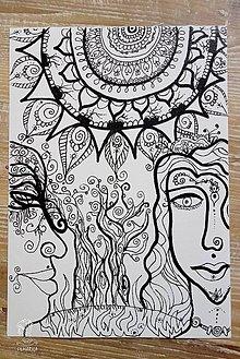 Kresby - Omaľovánka pre ženy