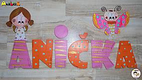 Tabuľky - Nápis - Anička - 7743462_