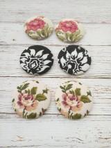 - Vintage buttony na objednávku 32 mm - 7741179_