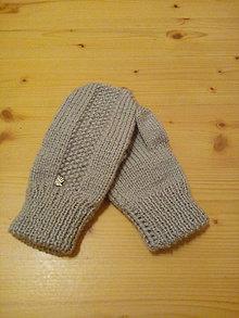 Iné oblečenie - Dámske rukavice - 7743358_