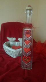 Valentínska fľaška