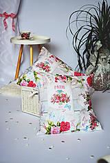 - Kvetinové obliečky na vankúše - 7742670_