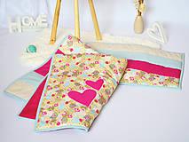 Textil - Detská patchwork deka a obliečka na vankúš - 7743453_