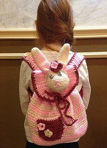 Detské tašky - Detský batoh -  zajačik - 7744172_