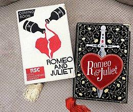 Kabelky - Kabelka v podobě knihy Romeo&Julie - 7743488_
