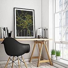 Grafika - NITRA, elegantná, čierna - 7744558_