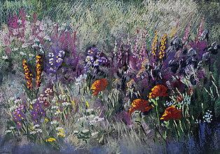 Obrazy - Letná záhrada 2 - 7744232_