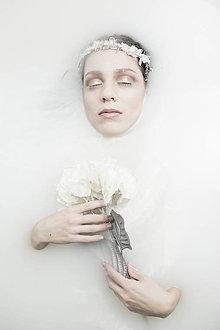 Ozdoby do vlasov - Zimný polvenček