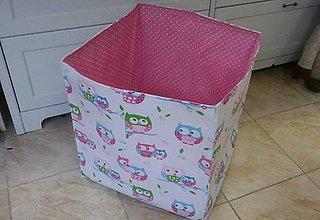 Textil - Šijeme boxy na hračky - 7742446_