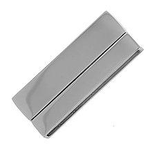 Komponenty - Magnetické zapínanie z nerezovej ocele, 42x17mm, bal.1ks - 7743305_