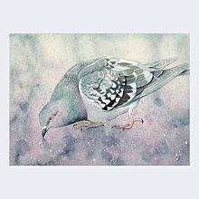 Obrazy - Za soumraku - originál, akvarel a kvaš - 7743999_