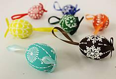 Dekorácie - sada farebných mini vajíčok  - 7742833_