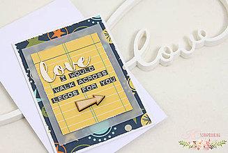 Papiernictvo - Scrapbooková pohľadnica XXIV - 7747197_