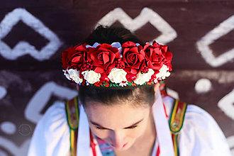 Ozdoby do vlasov - parta na čepčenie by michelle flowers - 7745580_