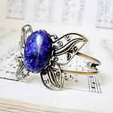 Lapis Lazuli & Butterfly Bracelet / Náramok s lazuritom