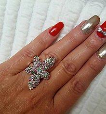 Prstene - Prsteň zelenoružové kamene - 7746282_