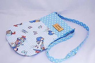 Detské tašky - Dievčenská kabelka Blue girl - 7746531_