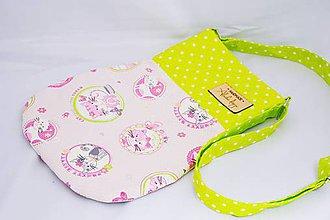 Detské tašky - Dievčenská kabelka Cats - 7746809_