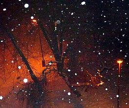 Fotografie - Sneží.... - 7749406_