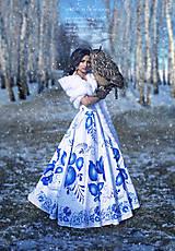 šaty FOLK - long