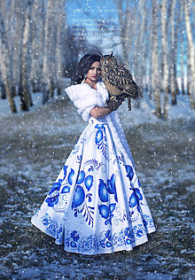 Šaty - šaty FOLK - long - 7747201_