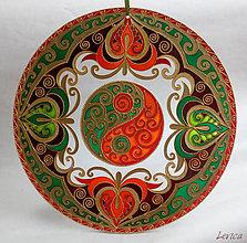 Dekorácie - Mandala Jin a Jang 2 - 7747836_