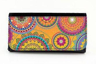 Peňaženky - Peňaženka ornament  22 - 7747701_