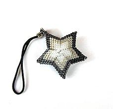 Na mobil - Čierna hviezda - prívesok - 7745106_
