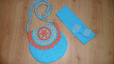 Detské tašky - Farebná kabelka s čelenkou - 7746744_
