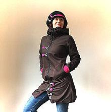 Kabáty - Zimní balónová bunda podšívkovaná fleecem - 7748738_